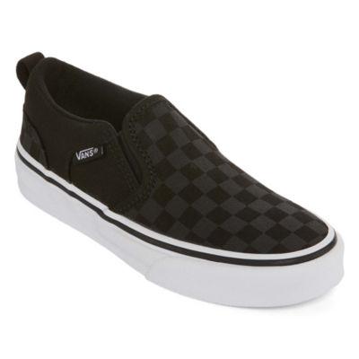 Vans Asher Unisex Kids Skate Shoes Pull-on - Big Kids