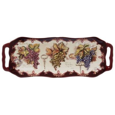 Certified International Vintners Journal Serving Platter