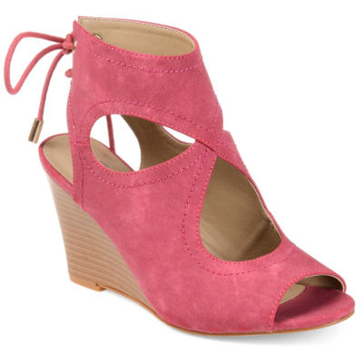 Journee Collection Jc Camia Womens Wedge Sandals