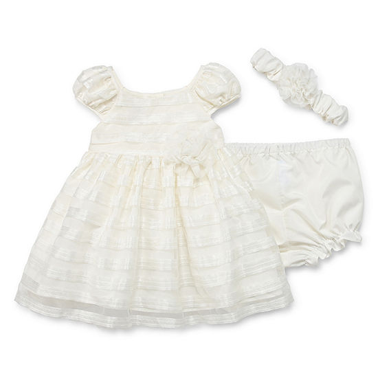 Marmellata Girls Short Sleeve A Line Dress Baby