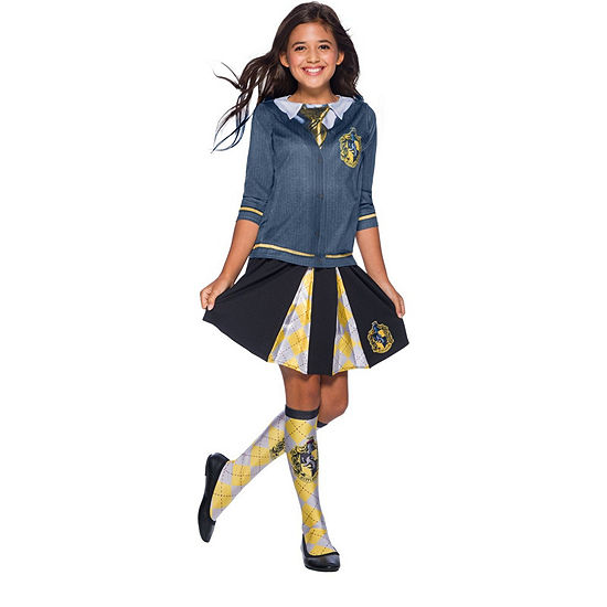 The Wizarding World Of Harry Potter Girls Hufflepuff Skirt One-Size