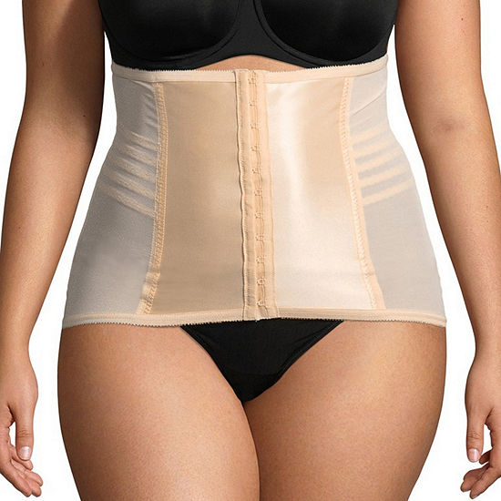 99290414b2f Rago Plus Shapette Stretch-Satin Panel Firm Control Waist Cincher - 821p -  JCPenney