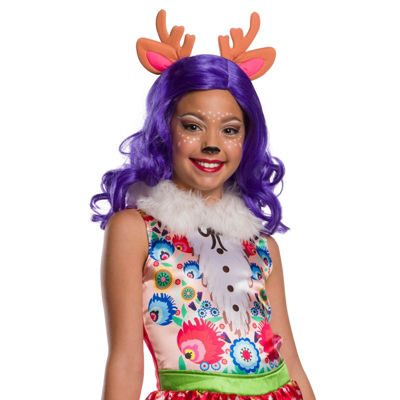 Enchantimals Danessa Deer Girls Wig With EarsOne-Size