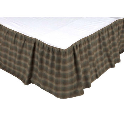 VHC Rustic & Lodge Bedding - Seneca Bed Skirt