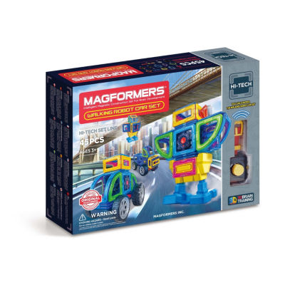 Magformers Walking Robot Car 45 PC Set