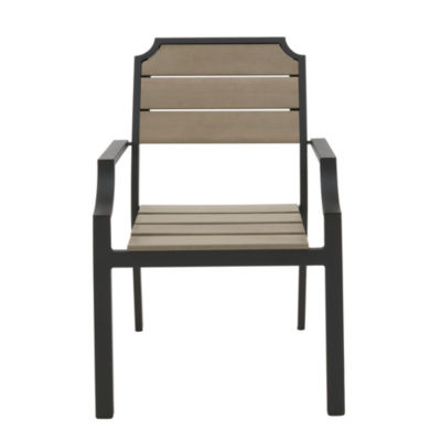 Madison Park Set of 2 Fowler Outdoor Arm Chairs