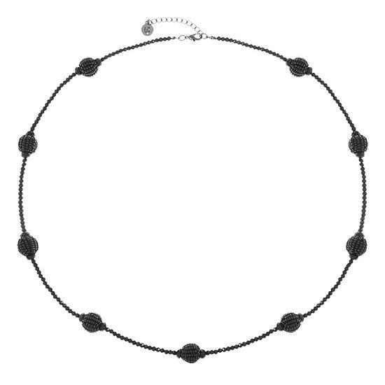 Liz Claiborne 34 Inch Bead Round Strand Necklace