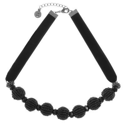 Liz Claiborne Womens Round Collar Necklace