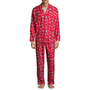 Mickey/Minnie 2 Piece Pajama Set -Men's