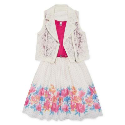 Knit Works 2-pack Jacket Dress Big Kid Girls