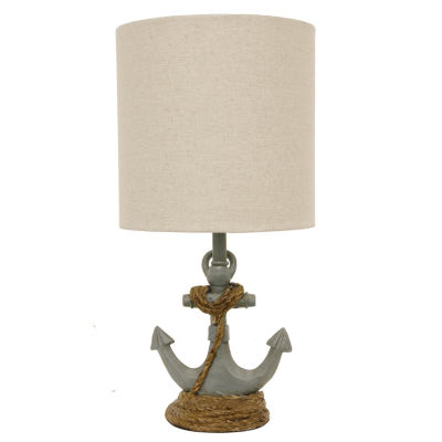 Decor Therapy Saylor Anchor Accent Lamp