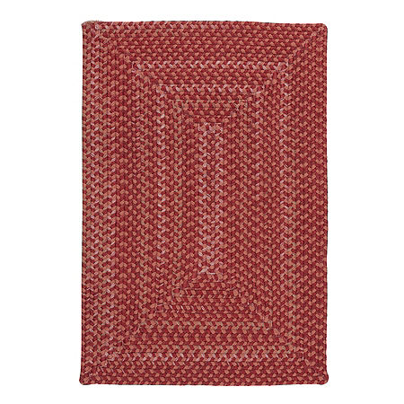 Colonial Mills Allentown Braided Rectangular Reversible Indoor Rugs, One Size , Red Product Image