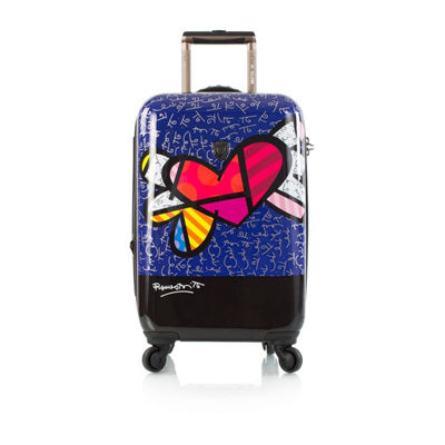 Heys Britto Hearts Wings 21 Inch Hardside Luggage