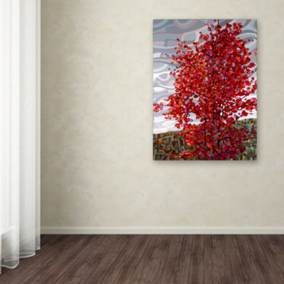 Trademark Fine Art Mandy Budan Passing Storm Giclee Canvas Art