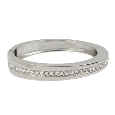 Worthington Silver Tone Bangle Bracelet