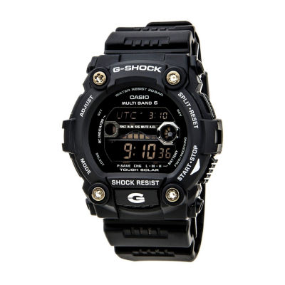 Casio Mens Black Strap Watch-Gw7900-1