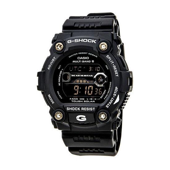 Casio G-Shock Mens Digital Black Strap Watch-Gw7900-1