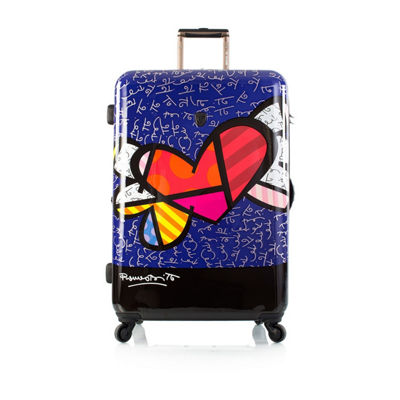 Heys Britto Hearts Wings 30 Inch Hardside Luggage