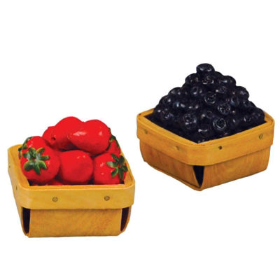 The Queen's Treasures 18 Inch Doll 2 Fruits PintsFood Accessories