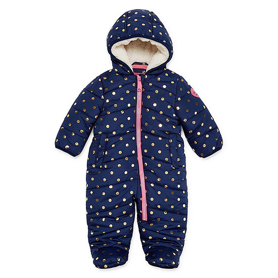 Weatherproof Pram Heavyweight Snow Suit Baby Girls