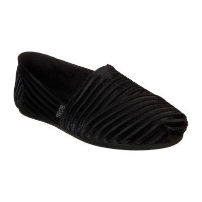Skechers Bobs Plush Womens Walking Shoes Pull-on