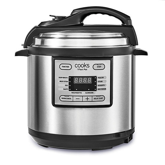 Cooks 6 Quart Fast Pot Multi-Cooker