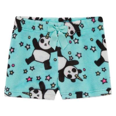 Arizona FLeece Panda Sleep Short - Girls 4-16