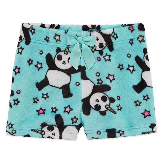 Arizona FLeece Panda Sleep Short - Girls 4-16 - JCPenney 30ed3dc38