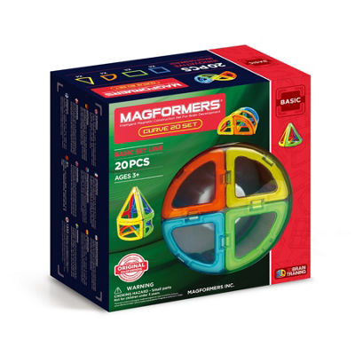 Magformers Curve 20 PC Set