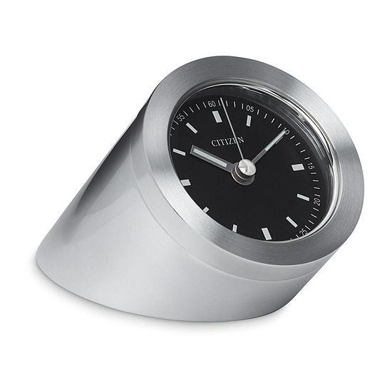 Citizen Black Table Clock-Cc1006