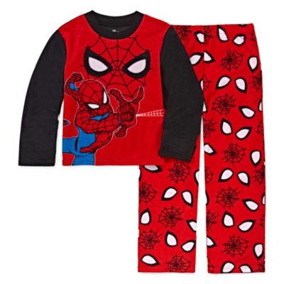 Spiderman 2-Pc Pajama Set Boys
