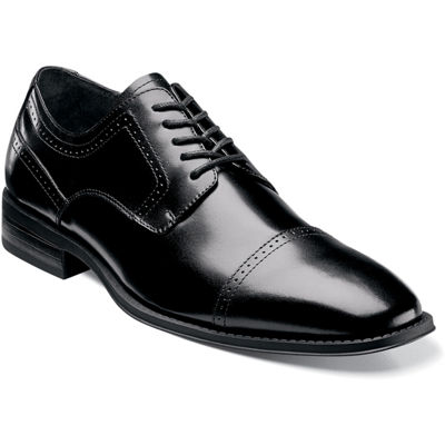 Stacy Adams® Waltham Mens Leather Cap Toe Lace Oxford Dress Shoes