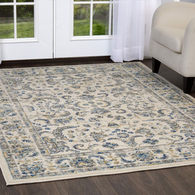 Home Dynamix Vintage Desa Distressed Runner Rug