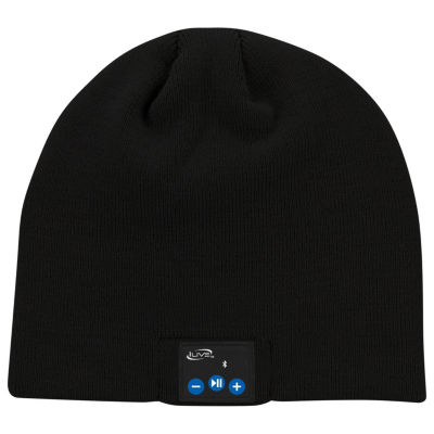 iLive IAKB45 Bluetooth Wireless Knit Stocking Beanie with Microphone