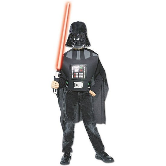 Star Wars Boys Ep3 Darth Vader Boxsetone Size