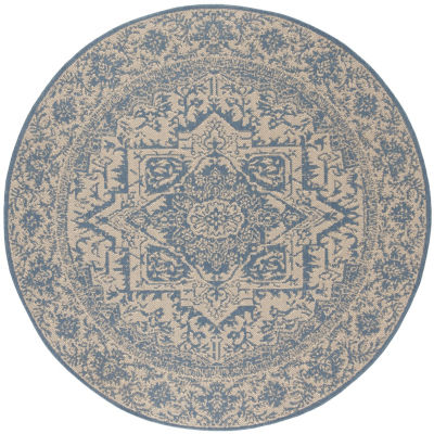 Safavieh Linden Collection Eliot Oriental Round Area Rug