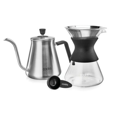 Cooks Pour Over Coffee Kit