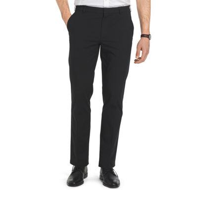 Van Heusen Flex Oxford Chino Straight Fit Flat Front Pants