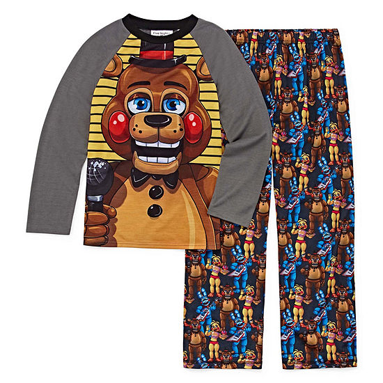 2-pc. Five Nights at Freddys Pajama Set Preschool / Big Kid Boys