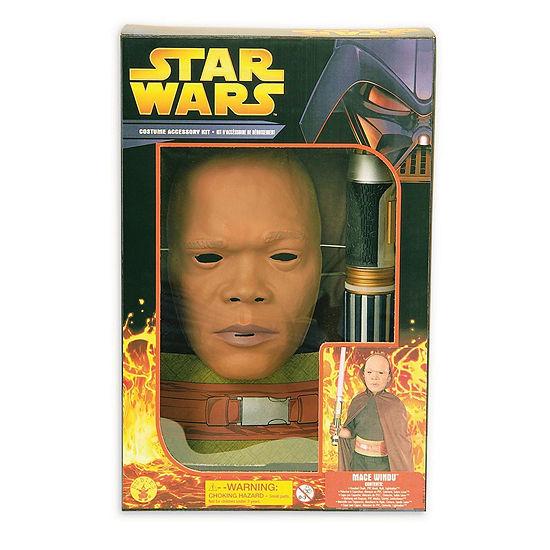 Star Wars Boys Ep3 Mace Windu Boxsetone Size