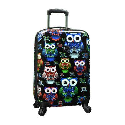 Travelers Choice Colorful 22 Inch Hardside Luggage