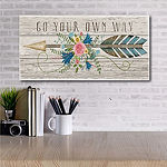 Courtside Market Go Your Own Way Canvas Art