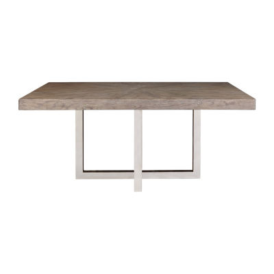 Highland Park Rectangular Wood-Top Dining Table