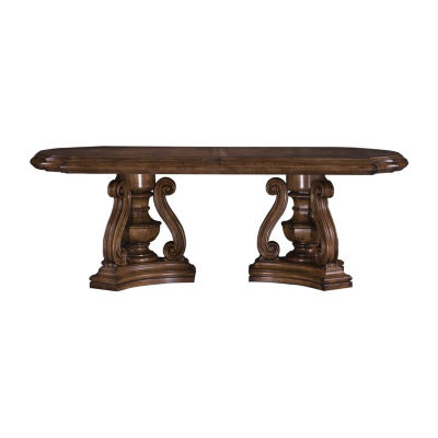 San Mateo Oval Wood-Top Dining Table