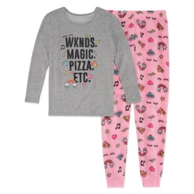 Arizona Weekends 2pc.Pajama Set - Girls 4-16