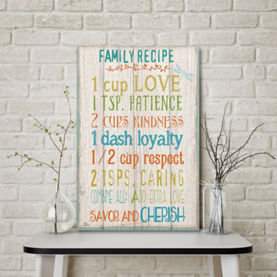 Family Rules Canvas Art
