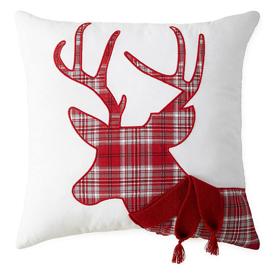 North Pole Trading Co. Holiday Square Throw Pillow