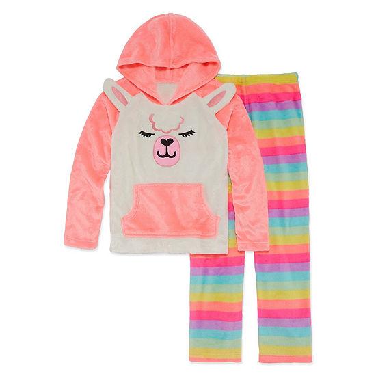 Arizona Little Kid Girls 2-pc. Pant Pajama Set