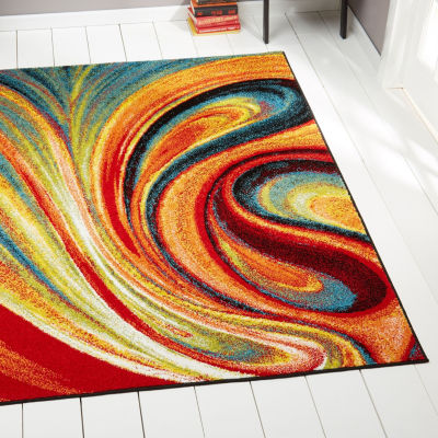 Home Dynamix Splash Adja Abstract Rectangular Rug
