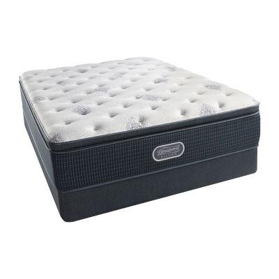 Simmons Beautyrest Silver® Erickson Pillowtop Plush - Mattress + Box Spring